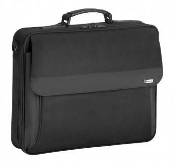 Сумка для ноутбука Targus TBC002EU черный, нейлон, рекомендуемая диагональ 15, съемный ремень, карманов внешних: 2шт, карманов внутренних: 5шт (TBC002EUV1)
