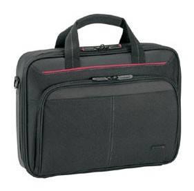 Сумка для ноутбука Targus CN313 черный, нейлон, рекомендуемая диагональ 13.3, съемный ремень, карманов внешних: 1шт, карманов внутренних: 4шт (CN313-01)