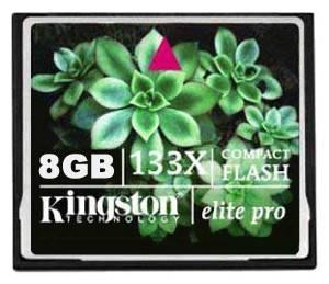 Карта памяти CF 8Gb Kingston CF / 8Gb