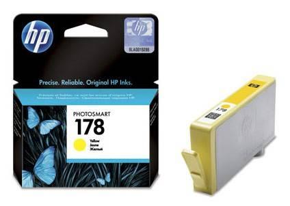 Картридж струйный HP №178 CB320HE желтый - фото 1