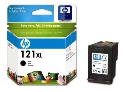 Картридж струйный HP №121XL CC641HE черный - фото 1