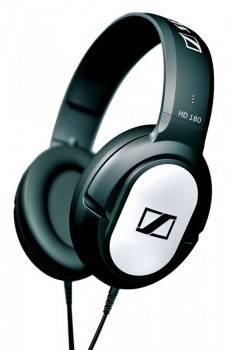 Наушники Sennheiser HD 180 черный / серебристый