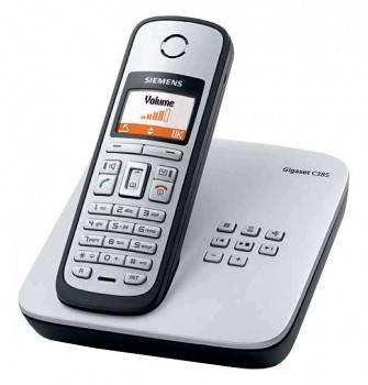 Телефон Siemens Gigaset C385 титан