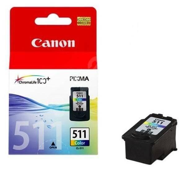 Картридж струйный Canon CL-511 2972B007 многоцветный - фото 1