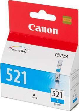 Картридж струйный Canon CLI-521C 2934B004 голубой