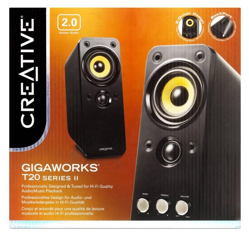 Колонки Creative GigaWorks T20 series II черный (51MF1610AA000) - фото 5