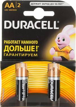 Батарея AA Duracell Basic LR6-2BL (2шт)