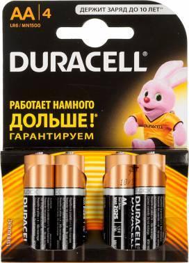 Батарея AA Duracell Basic LR6-4BL (4шт)