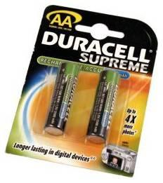 Аккумулятор AA Duracell HR6 (2шт) - фото 1