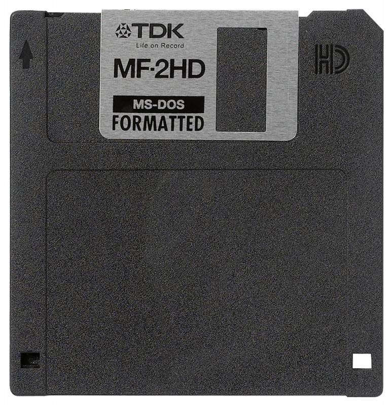 Дискеты TDK 1.44Mb 3.5 MFD (10шт) (t06058) Plastic Case - фото 1
