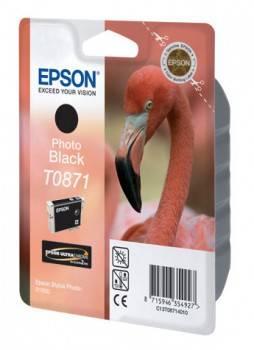 Картридж Epson T0871 фото черный (C13T08714010)
