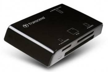 Картридер USB2.0 Transcend TS-RDP8K черный