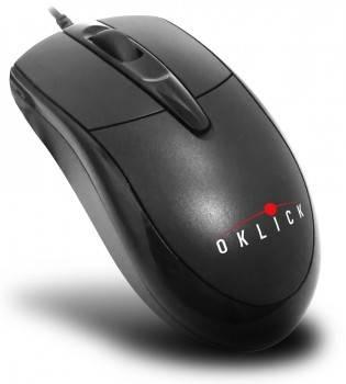 Мышь Oklick 125M черный