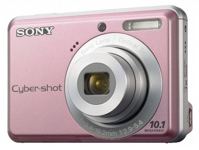 Фотоаппарат Sony Cyber-shot DSC-S930 розовый - фото 1