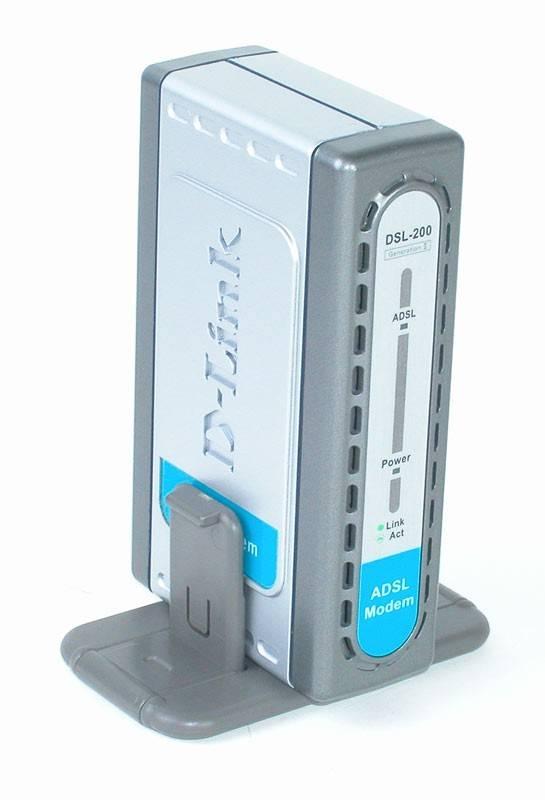 xDSL D-Link DSL-200/RU USB - фото 1