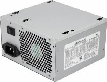 Блок питания LinkWorld ATX 400W LW2-400W 24 pin, 80mm fan, 3*SATA, power cord