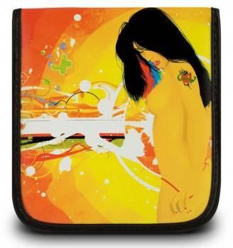 Портмоне PC Pet на 32CD/DVD на 32 CD/DVD Lady рисунок (в упаковке:1шт) (CDW-32LY)