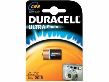 Батарея CR2 Duracell Ultra (1шт. уп)