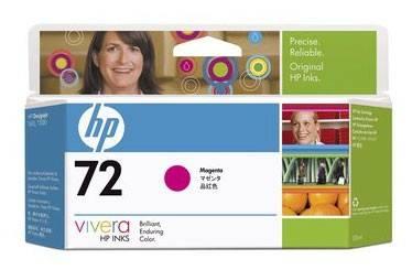 Картридж струйный HP №72 C9399A пурпурный - фото 1