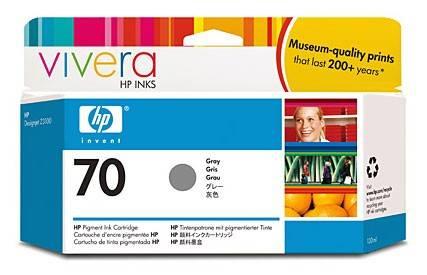 Картридж струйный HP №70 C9450A серый - фото 1