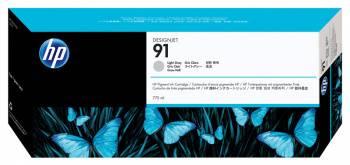 Тройная упаковка картриджей HP 91 светло-серый (C9482A)