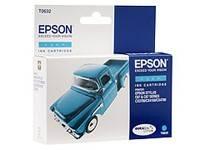 Картридж струйный Epson T0632 C13T06324A10 голубой