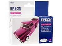 Картридж струйный Epson T0633 C13T06334A10 пурпурный