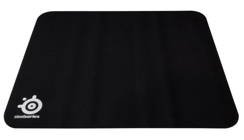 Коврик для мыши Steelseries QcK черный (63004) - фото 1