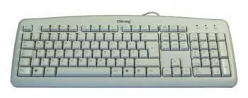 Клавиатура Chicony KB-0325 белый