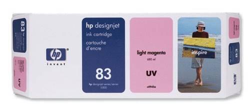 Картридж струйный HP 83 C4945A светло-пурпурный - фото 1