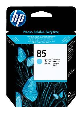 Картридж струйный HP №85 C9423A светло-голубой - фото 1