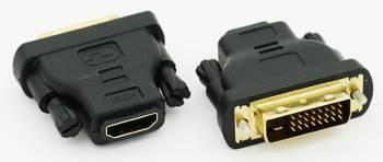 Переходник ADAPTER DVI-HDMI DVI-D(m) / HDMI (f)
