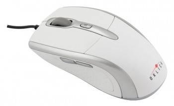 Мышь Oklick 610L белый / серебристый