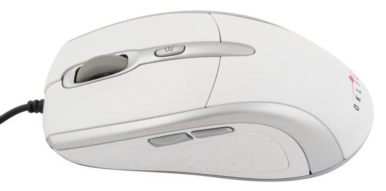 Мышь Oklick 610L белый/серебристый - фото 4