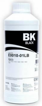 Чернила Epson R270/290/295/390/RX590/610/690/1410 (T0821) (1000мл) black InkTec (E0010-01LB)