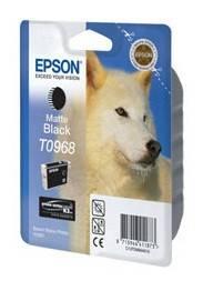 Картридж струйный Epson T0968 черный матовый (C13T09684010)