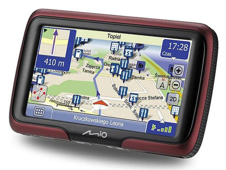 "GPS-навигатор Mitac Mio Moov M400 4.3"" бордовый - фото 1"