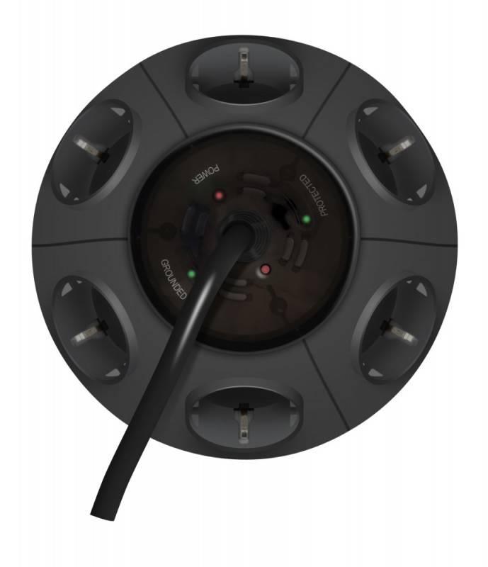 Сетевой фильтр Ippon BU-211GM 1.8м серый (CA-G608A3CG) - фото 2