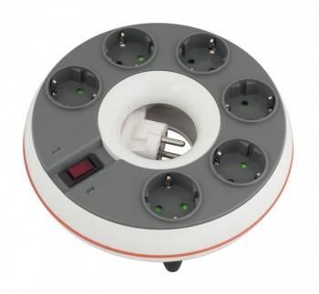 Сетевой фильтр Ippon BD-211W 1.8м белый
