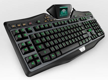 Клавиатура Logitech G19 черный - фото 2