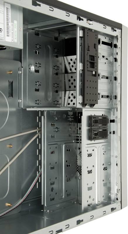 Корпус ATX 450W Foxconn TLA-570А черный/серебристый - фото 9