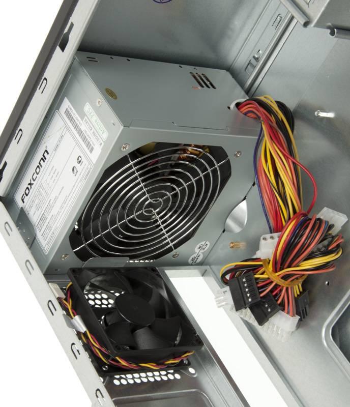 Корпус ATX 450W Foxconn TLA-570А черный/серебристый - фото 10