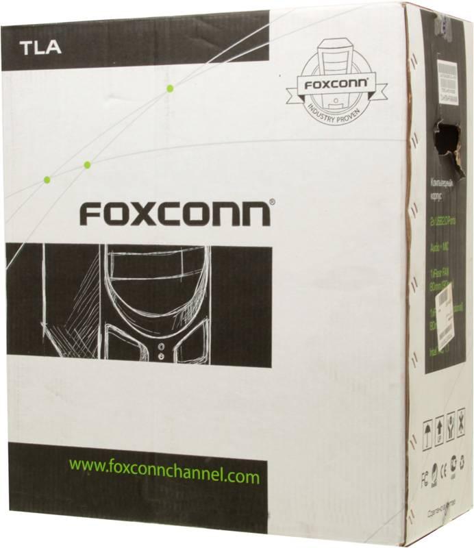 Корпус ATX 450W Foxconn TLA-570А черный/серебристый - фото 14