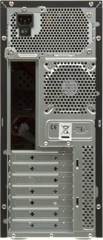 Корпус ATX 450W Foxconn TLA-570А черный/серебристый - фото 4