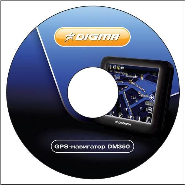 """GPS-навигатор Digma DM350 3.5"""" черный - фото 11"""