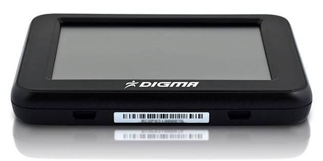 """GPS-навигатор Digma DM350 3.5"""" черный - фото 4"""