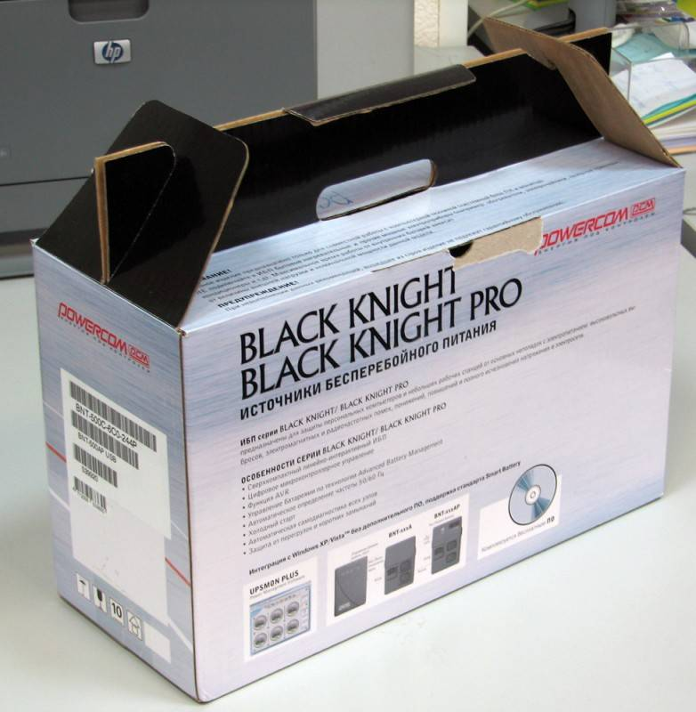 ИБП Powercom Black Knight Pro BNT-800AP - фото 4
