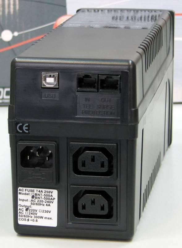 ИБП Powercom Black Knight Pro BNT-800AP - фото 2