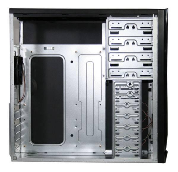 Корпус ATX Gigabyte GZ-KX5B черный - фото 1