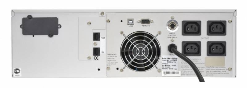 ИБП Powercom Smart King RM SMK-1500A-RM-LCD - фото 4